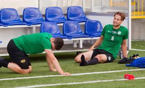 Jonas Hellgren har fått ägna mycket tid åt rehabträning de två senaste åren.