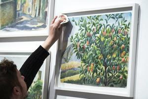 Millesgården visar en privat sida av Josef Franks konstnärskap: akvarellerna som han gjorde som pensionär, helst i Sydfrankrike där han kunde sitta ute.