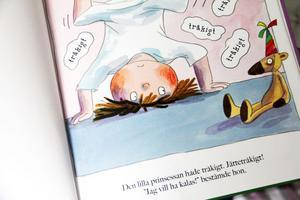 En av favoritböckerna just nu är Lilla prinsessan av Tony Ross.