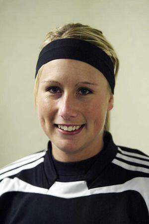 Fyra mål. Sara Stålberg - en av Rönnbys många matchvinnare.