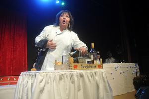 Eva Fahlberg hade ett eget matlagningsprogram 2014.