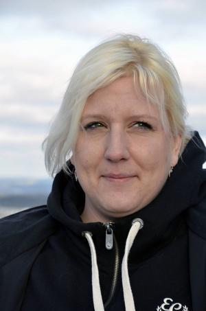 Laila Åslund från Njurunda är busschaufför och frivillig i Missing People.