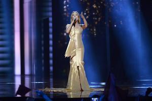 Albaniens Eneda Tarifa framför bidraget Fairytale.