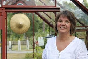 Ulla har byggt upp sin trädgård under femton års tid.