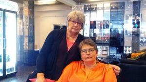 Döttrarna Inga-Maj Säärelä och Kerstin Johansson är tacksamma över allt varmt stöd de fått efter att bilden på deras mamma spridits tillsammans med falska påståenden.