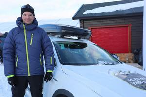 Peter Randström vann utlottningen av en sprillans ny bil.