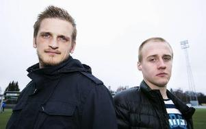 Dalkurd mot Brage. Peter Nilsson mot Anton Lundin.