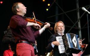 Olle Moraeus och Benny Andersson. Foto: Jennie-Lie Kjörnsberg
