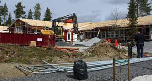 Förskolan i Sånghusvallen får fem avdelningar. Den ska slutbesiktigas i slutet av juli.