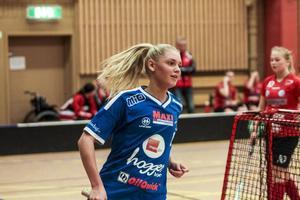 Alva Olofsson fick måljubla många gånger under det allsvenska kvalet med H/B förra säsongen.