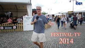 Nu gör förra årets succé ett nytt avstamp - ÖP:s festival-tv är här.