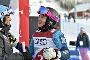 Alexandra Edebo, Mora noterade nionde snabbaste tid och är klar för lördagens final.