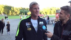 Johan Mjällby intervjuas av Andreas Hanson.