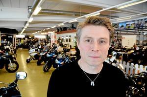 Roadracingstjärnan Lasse Carlbark