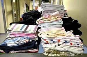 Tre. På tre dagar får man tillbaka sina kläder rena. Foto: Jan Wijk