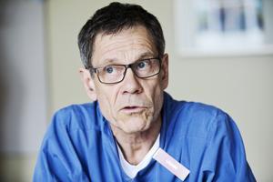 Stefan Ström, överläkare på intensivvårdsavdelningen på sjukhuset i Västerås.