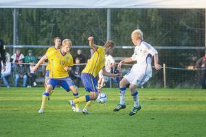 Sverige besegrade Finland i en P15-landskamp på Olympia i Bredbyn.