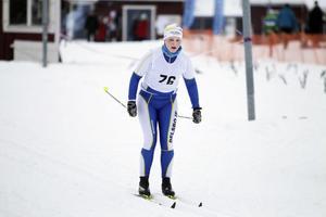 Agnes Fagerlund från Delsbo kom i mål som femma i D 17–20-klassen.