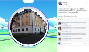 Gävleborgs landshövding Per Bill tipsar om det nya spelet Pokémon Go.