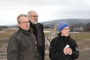 Göran Jonsson, Erland Nydén och Emma Erdtman är tre Skedvibor som är oroliga över vad som händer när det knappt finns någon lokal räddningstjänstpersonal kvar i trakten.