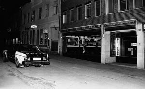 Restaurang Priscilla hette tidigare Moulin Rouge. Det här är ett foto från 25 januari 1980.