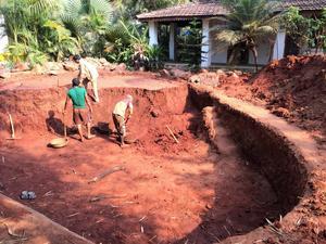 Sedan paret köpte huset har de lagt ned många arbetstimmar på att få det klart.