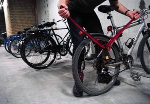 Det är i huvudsak under helgen cykeltjuven är framme.