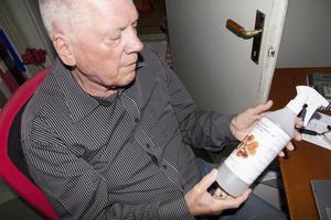 Freddy Klaffmo hoppas att företagets brandsläckmedel ska kunna ersätta miljögiftiga släckmedel på marknaden.