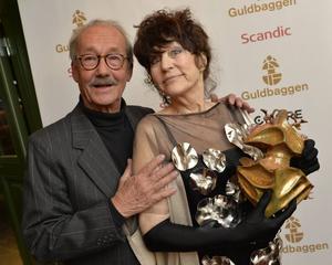 Gösta Ekman berättade en historia om en dam och en hatt i stället för att hylla Birgitta Andersson på Guldbaggegalan.