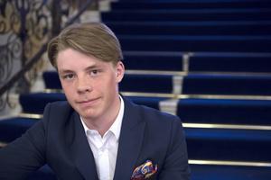 Filip Vennerström är en av Sundsvalls SLK's största slalomtalanger. Nu ska han representera Medelpad i Ungdoms-OS.