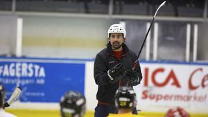 FAIK-tränaren Johan Rauch.