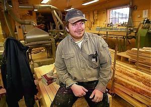 Jyrki Olavi Pietarila, från Nyland i Kramfors, omkom vid arbetsplatsolyckan. Bilden är tagen 2000.