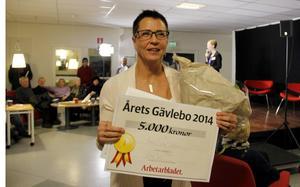 Anna Sving Sjöblom var strålande glad efter utnämningen.