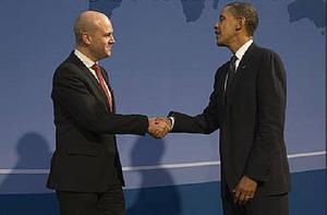 Ewa Björling (M), handelsminister och Saila Quicklund (M), riksdagsledamot och länsförbundsordförande hoppas att Barack Obamas samtal med statsminister Fredrik Reinfeldt till viss del kommer att handla om frihandel. Ett frihandelsavtal kan utgöra en kraftfull energiinjektion som bidrar till tillväxten, skriver de.