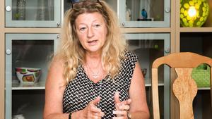 """Janí Stjernström menar att det är en mer utåtriktad aggression i dag. """"Framför allt för personal på akuten och ambulansen där man utsätts för situationer som är svårbedömda"""", säger hon."""