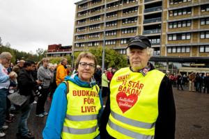 Sollefteå Framtidens akutsjukhus, här Kerstin Brandelius och Nils-Gunnar Molin, bjuder in till stormöte om sjukvårdens framtid.