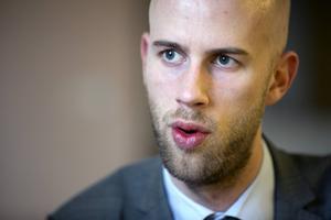 Riksdagsledamot Carl-Oskar Bohlin (M).