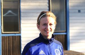 Linnea Åkerlund blev för ovanlighetens skulle tvåmålsskytt mot Team Hudik