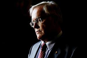 Lars Nylén generaldirektör för kriminalvården ger beskedet att det inte blir något fängelse i östersund.