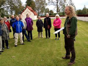 Anders Hansson berättade på ett fängslande sätt om stora fältslag på jämtländsk mark.