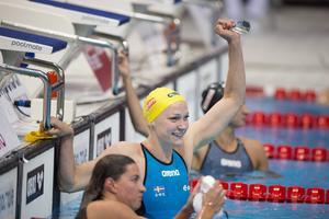 Sarah Sjöström tog andra EM-guldet och säkrar OS-formen.