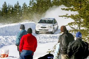Härjedalsbrickan lockade rallyentusiasterna ut i skogarna runt Sveg. Bilden är från 2014.