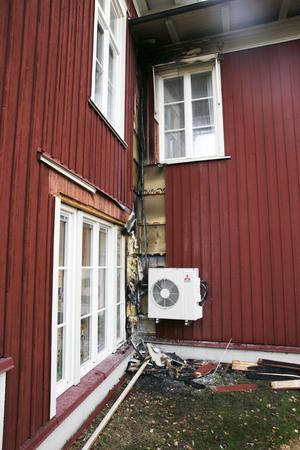 Brand Leksands kulturhus