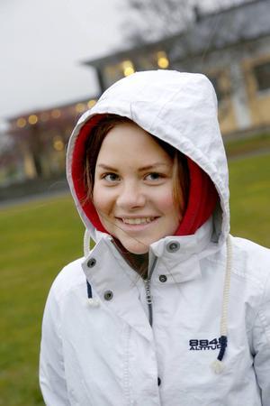 Evelina Svedberg är en av eleverna bakom eventet.