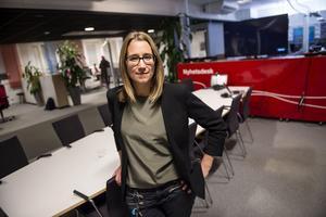 Karin Näslund, chefredaktör och ansvarig utgivare för ÖA och TÅ.