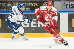 Tor Immo har gjort två mål för Troja.Foto: Daniel Eriksson/Bildbyrån