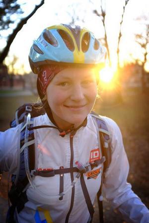 Östersundaren och multisportaren Anna Gredander, pluggar just nu till beteendevetare i Uppsala.
