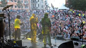 Electric banana band på Kringelfestivalen 2015.