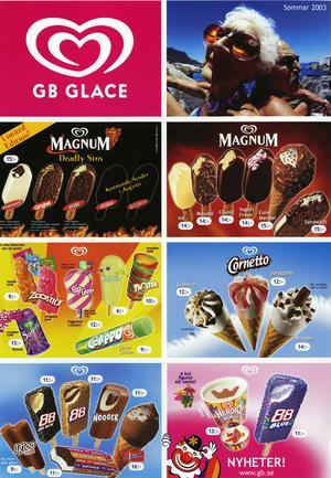 2003 fanns det tre smaker av 88:an, klassisk, black och blue.