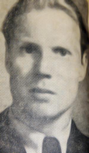 Förste fältflygaren Uno Magnusson.